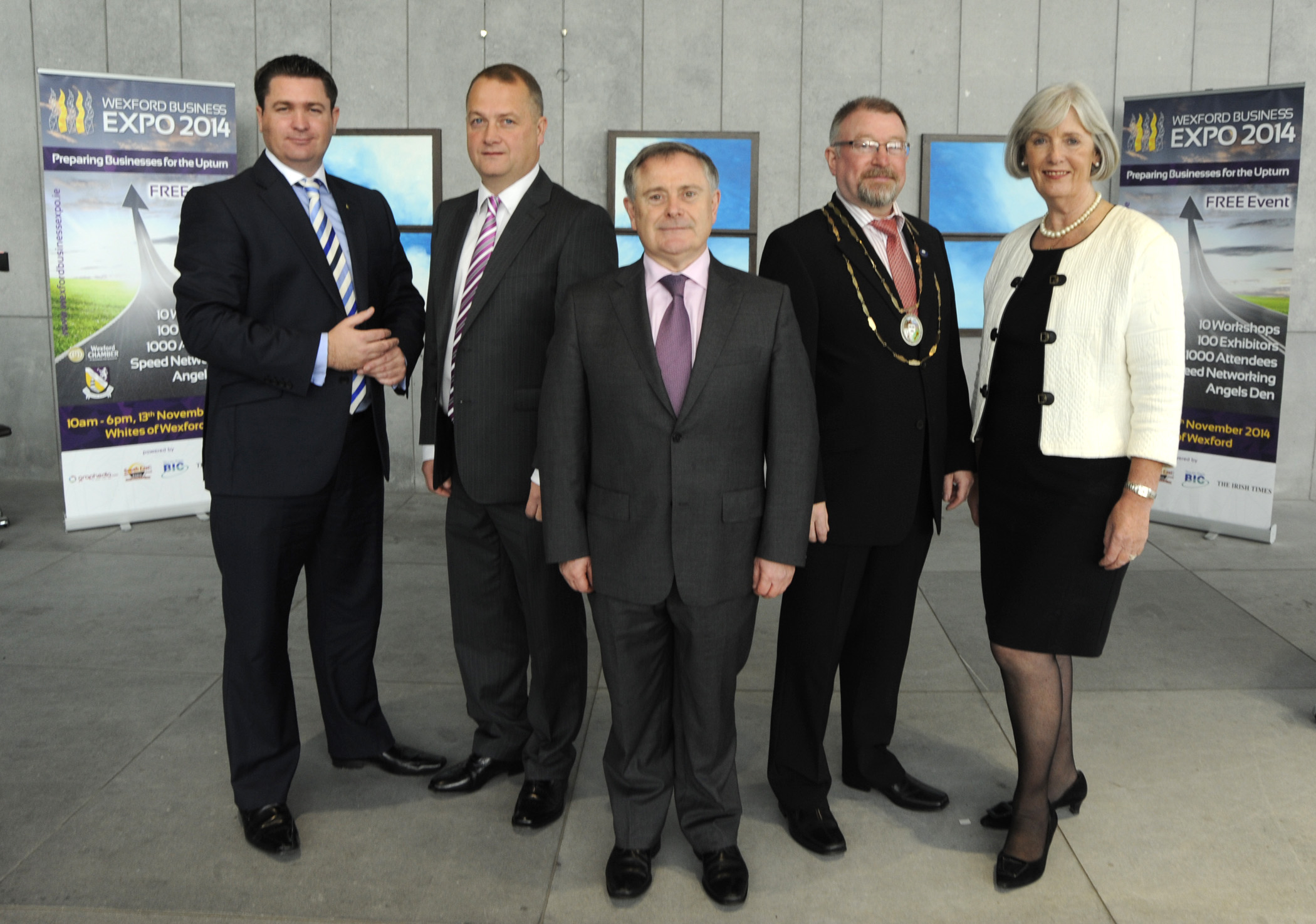 Launch of 2014 Wexford Business Expo (2)