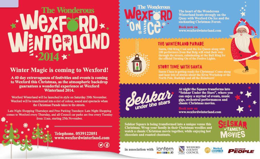 Wexford Winterland Advert