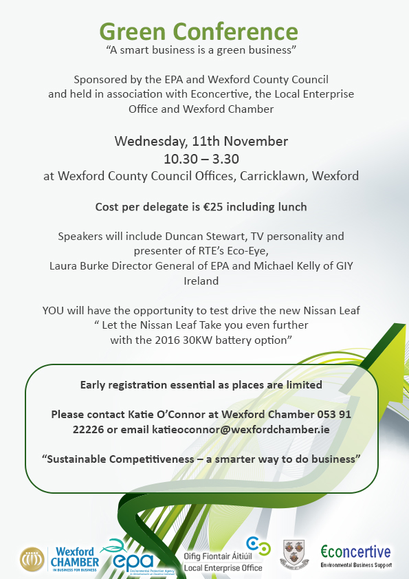 Green Conference Advert - FINAL