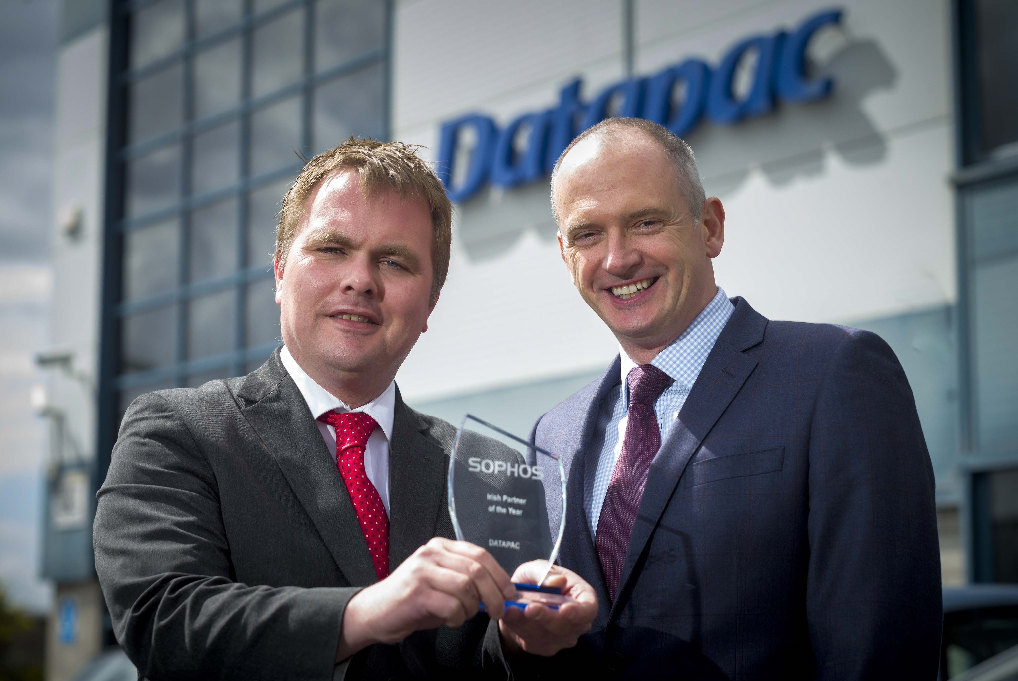 Datapac awarded Sophos Irish Partner of the Year for fourth year running