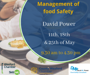 Management of food safety
