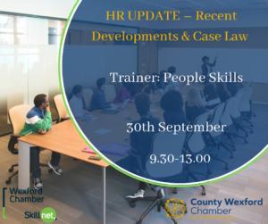 HR UPDATE – Recent Developments & Case Law